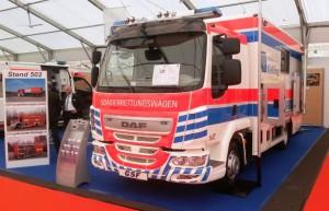 DAF ITW Messe RettMobil 2015